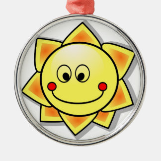 Fun Sunshine Christmas Ornament