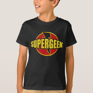 Fun SUPERGEEK Graphic TEE