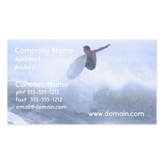 Fun Surfing Pack Of Standard Business Cards