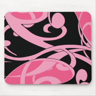 Fun swirls Mousepad