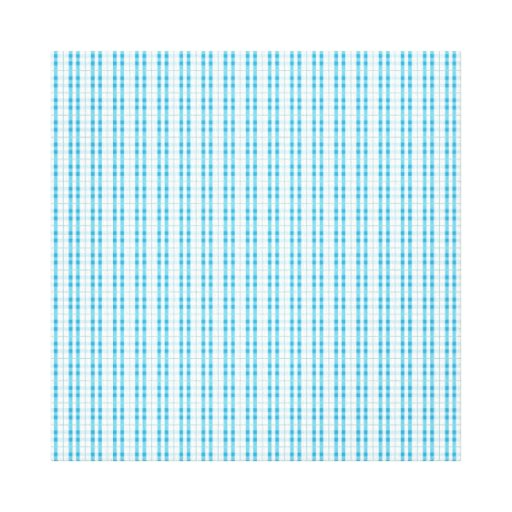 Fun Teal and Grey Striped Pattern Canvas Print