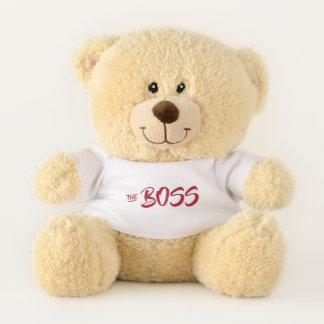 FUN THE BOSS TEDDY BEAR