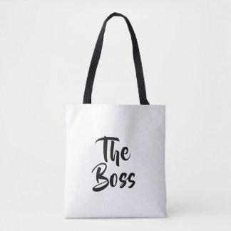 FUN, THE BOSS TOTE BAG