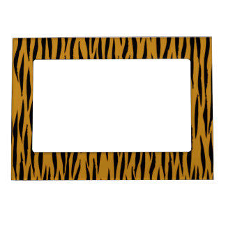 Fun Tiger Print Magnetic Picture Frame