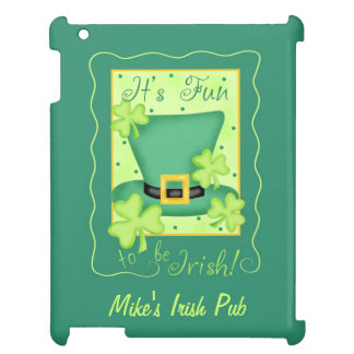Fun to Be Irish Business Promotion Personalized Case For The iPad 2 3 4