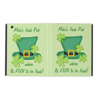 Fun to Be Irish Business Promotion Personalized iPad Covers