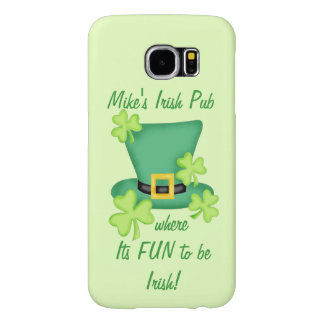 Fun to Be Irish Business Promotion Personalized Samsung Galaxy S6 Cases