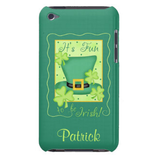 Fun to be Irish St. Patrick's Name Personalized Barely There iPod Case