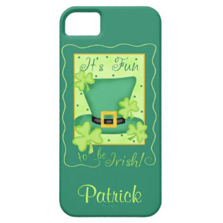 Fun to be Irish St. Patrick's Name Personalized iPhone 5 Cover