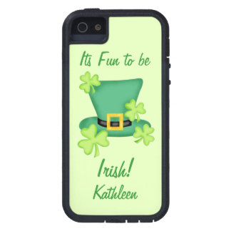 Fun to be Irish St. Patrick's Name Personalized iPhone 5 Covers