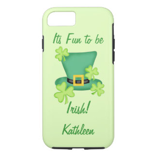 Fun to be Irish St. Patrick's Name Personalized iPhone 7 Case
