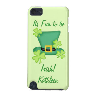 Fun to be Irish St. Patrick's Name Personalized iPod Touch 5G Case