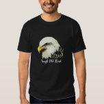 "Fun ""Tough old Bird"" Humour Bald Eagle Bird Tee Shirts"