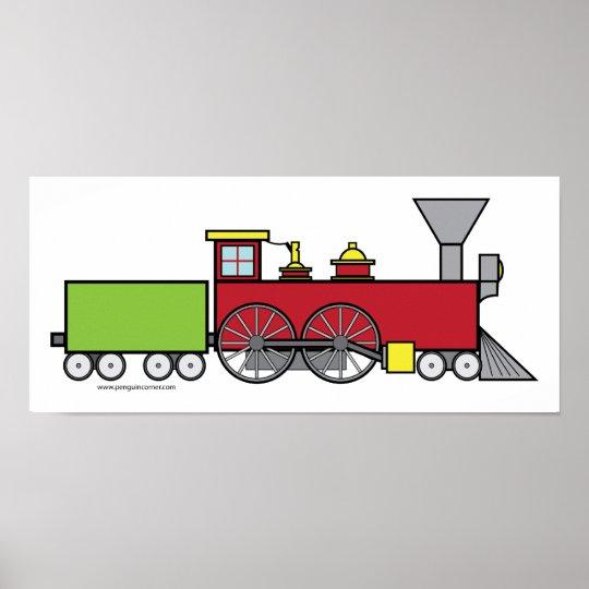 Fun Train Poster