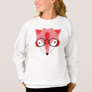 Fun Trendy Whimsy Fox Design Sweatshirt