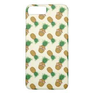 Fun Tropical Pineapple with Sunglasses iPhone 8 Plus/7 Plus Case