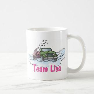 Fun Trucker Tees and Gifts - Team Lisa Basic White Mug