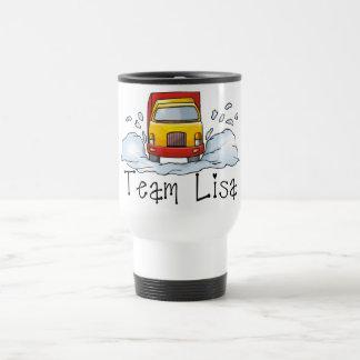 Fun Trucker Tees and Gifts - Team Lisa Travel Mug