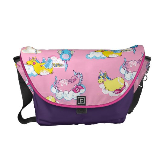 Fun Unicorns Bag for Kids Courier Bags
