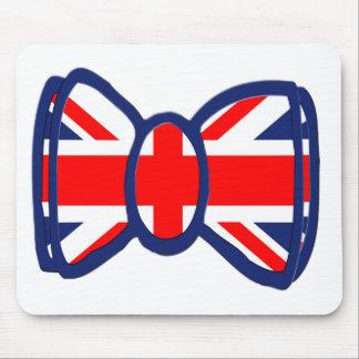 Fun Union Jack Bow Tie Art Mouse Mat