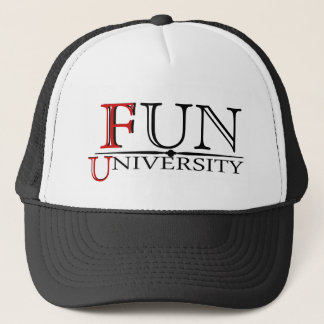 Fun University hidden meaning funny hat