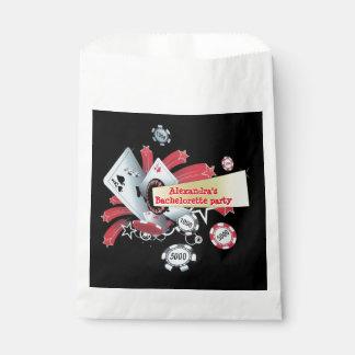 Fun Vegas poker casino chip bachelorette party Favour Bags