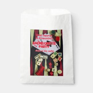 Fun Vegas style gambling bachelorette party Favour Bags