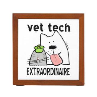 Fun Vet Tech Extraordinaire Desk Organiser