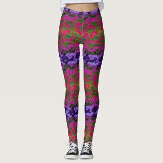 Fun Vibrant Colorful Leggings