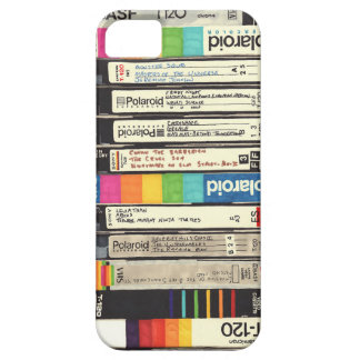 Fun Vintage 80s Retro VHS Tape Stack iPhone 5 Cover