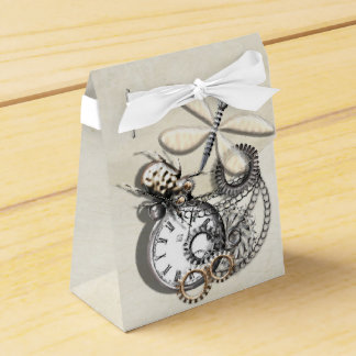 Fun Vintage Inspired Steam Punk Theme Favour Box