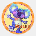 Fun Wally Stickers