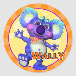 Fun Wally Stickers