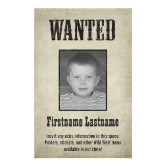 Fun WANTED poster design Flyers
