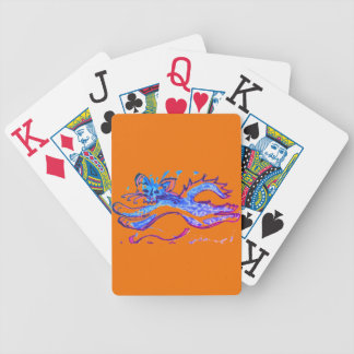 Fun Water Cat leaping Jumbo Index playing cards