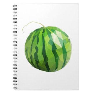 Fun Watermelon Design Notebook