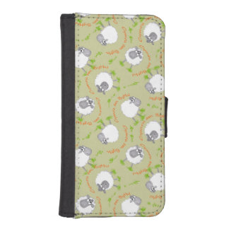 Fun Welsh Sheep, Wales Forever iPhone Wallet