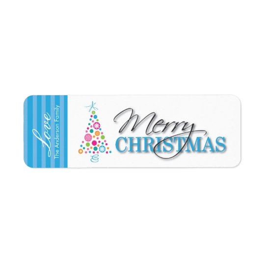 Fun Whimsical Christmas Stickers