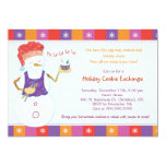 Fun Whimsical Holiday Cookie Exchange Party Invite