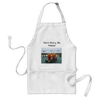 Fun Whimsical Laid Back Philosophy! Standard Apron