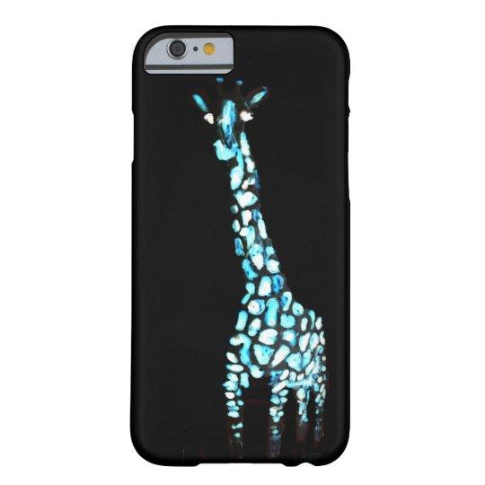 Fun Wild Animal Abstract Giraffe Barely There iPhone