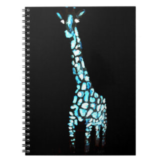 Fun Wild Animal Abstract Giraffe Notebooks