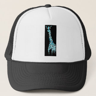 Fun Wild Animal Abstract Giraffe Trucker Hat