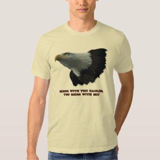 Fun Wildlife Supporter Bald Eagle Wildlife T-Shirt