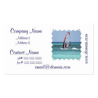 Fun Windsurfing Business Cards
