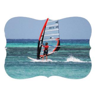 Fun Windsurfing Cards