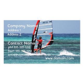 Fun Windsurfing Pack Of Standard Business Cards