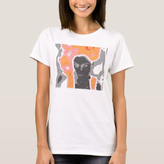 Fun with Faces White Baby Doll T-Shirt