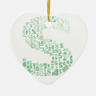 Fun with Fonts S Christmas Ornament