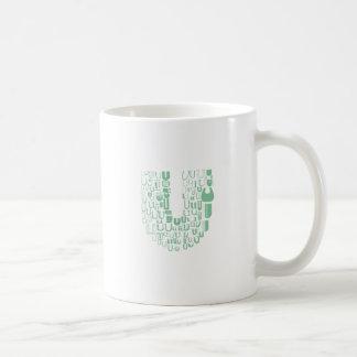 Fun with Fonts U Coffee Mug